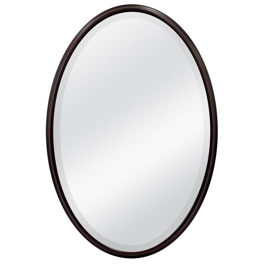 Oval Black Framed Mirror – Harpsounds.co inside Black Oval Wall Mirrors (Image 11 of 25)