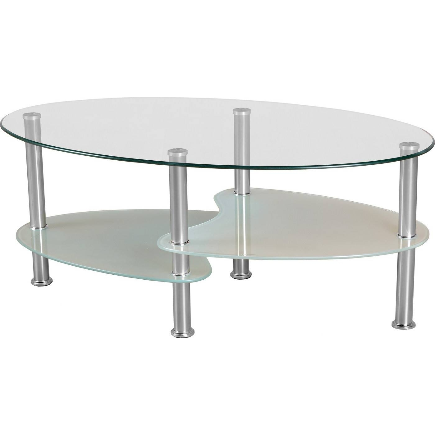 Oval Glass Coffee Table Modern Coffee Tables Oval Glass And Wood Inside Oval Glass Coffee Tables (View 2 of 30)