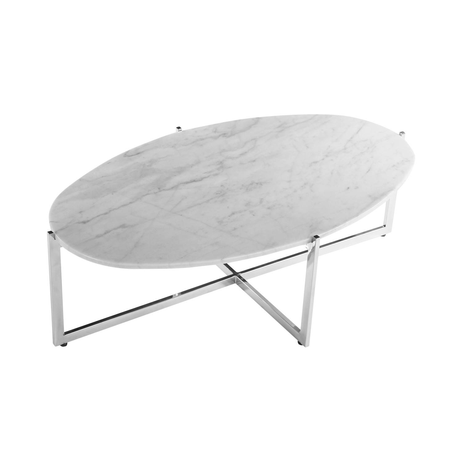 2017 Popular Oval White Coffee Tables