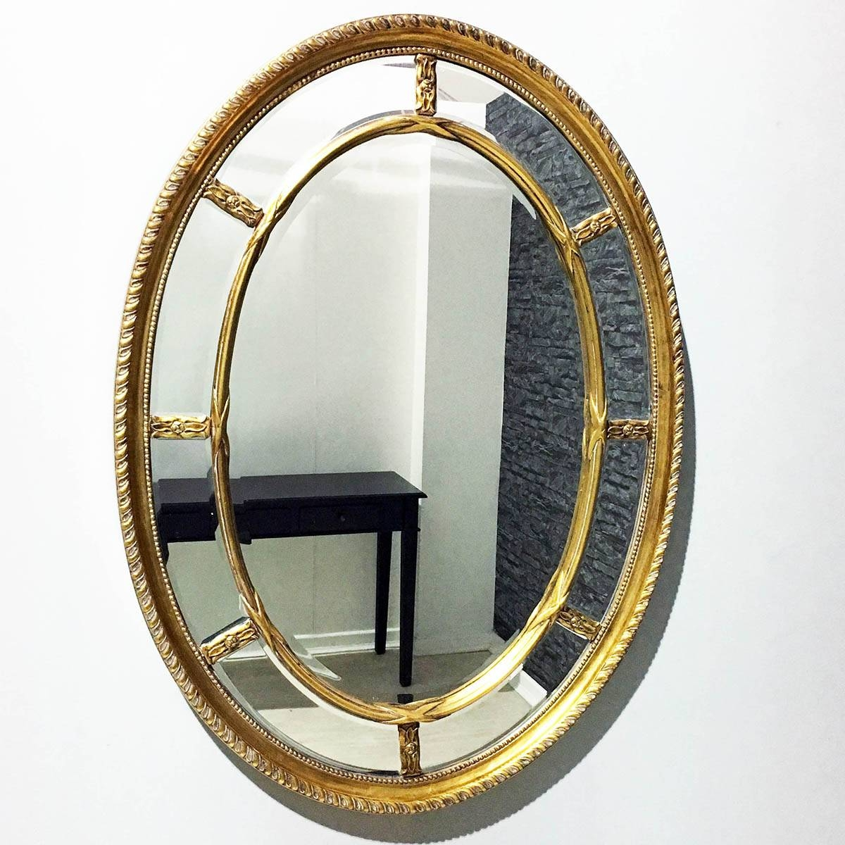 Oval Mirrors | Oval Wall Mirrors | Exclusive Mirrors within Triple Oval Wall Mirrors (Image 16 of 25)
