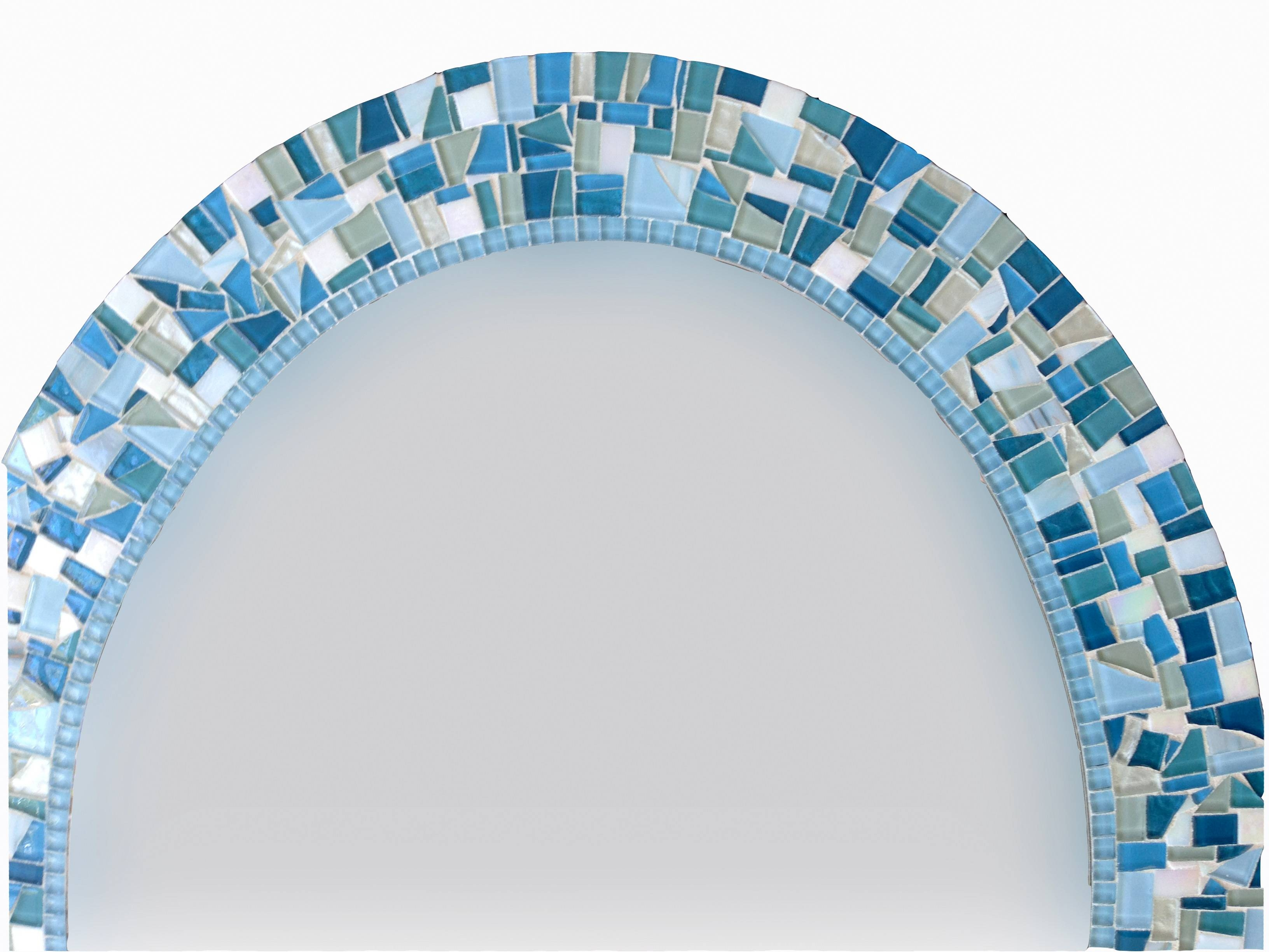 Oval Mosaic Wall Mirror - : with Mosaic Wall Mirrors (Image 19 of 25)