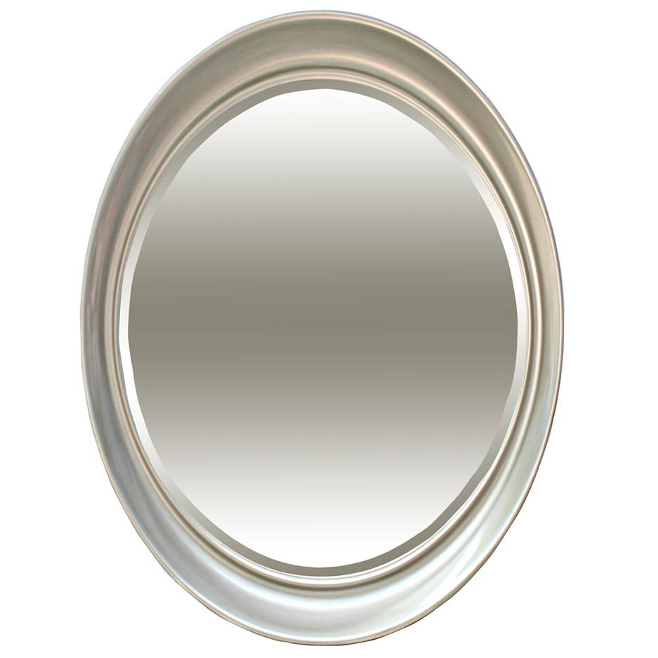 Oval Silver Mirror – Mirrors (View 15 of 25)
