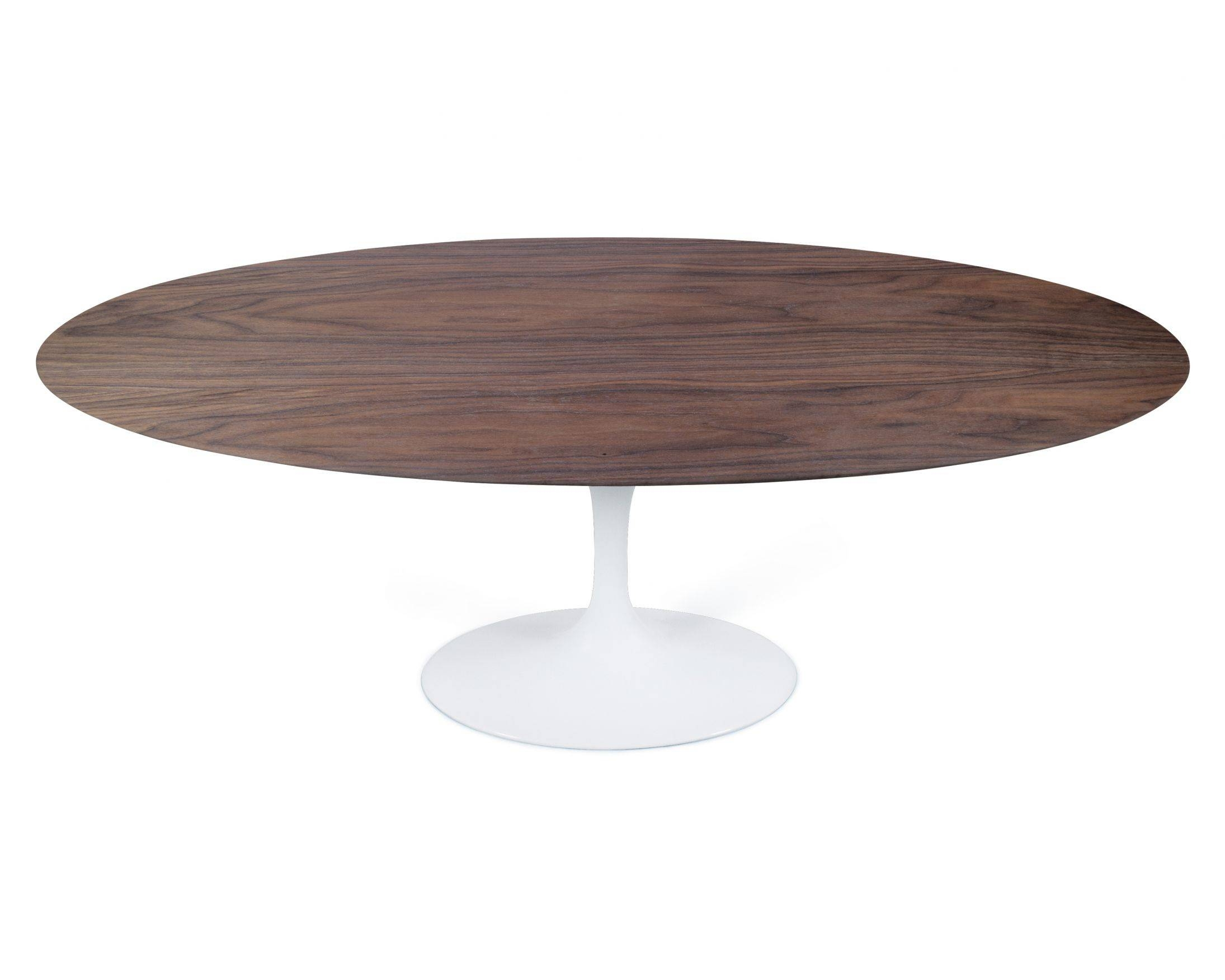 Oval Tulip Table - Wood | Reproduction | Rove Concepts inside Oval Walnut Coffee Tables (Image 22 of 30)