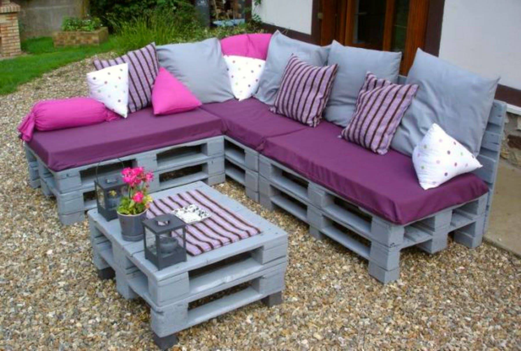 Over 50 Creative Diy Pallet Sofa Ideas 2016 - Cheap Recycled in Diy Sofa Frame (Image 20 of 30)