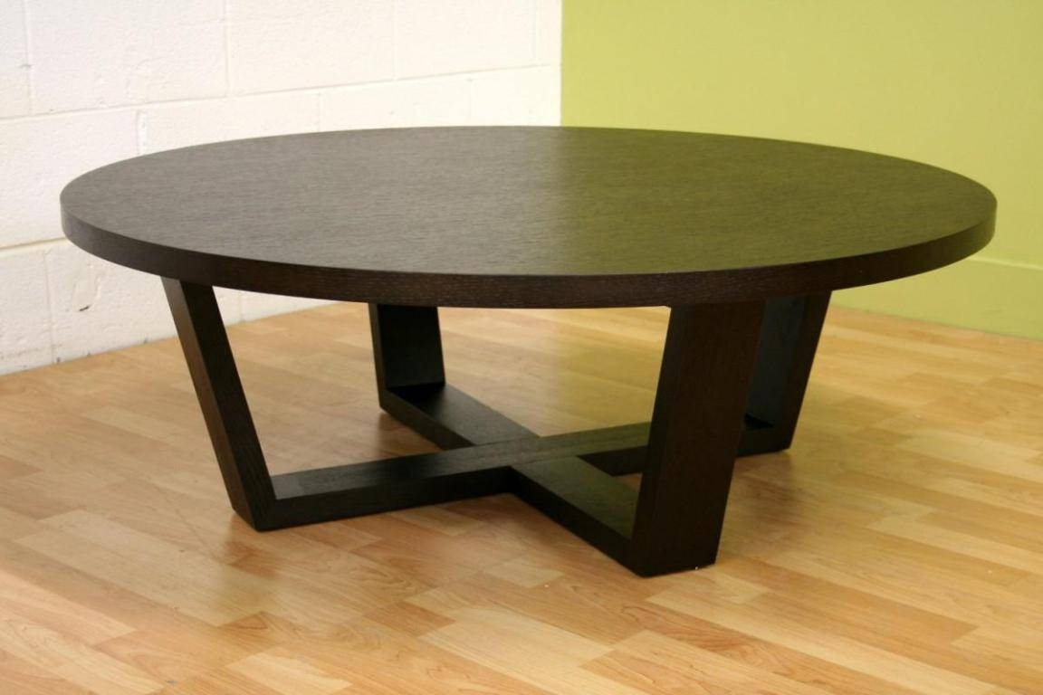Oversized Coffee Table Design – Round Glass Top Coffee Tables With Oversized Round Coffee Tables (View 4 of 30)
