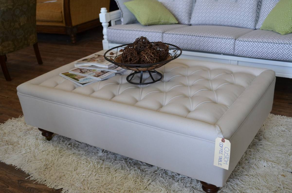 Oversized Ottoman Coffee Table Trend Round Coffee Table For Coffee Throughout Oversized Round Coffee Tables (View 21 of 30)
