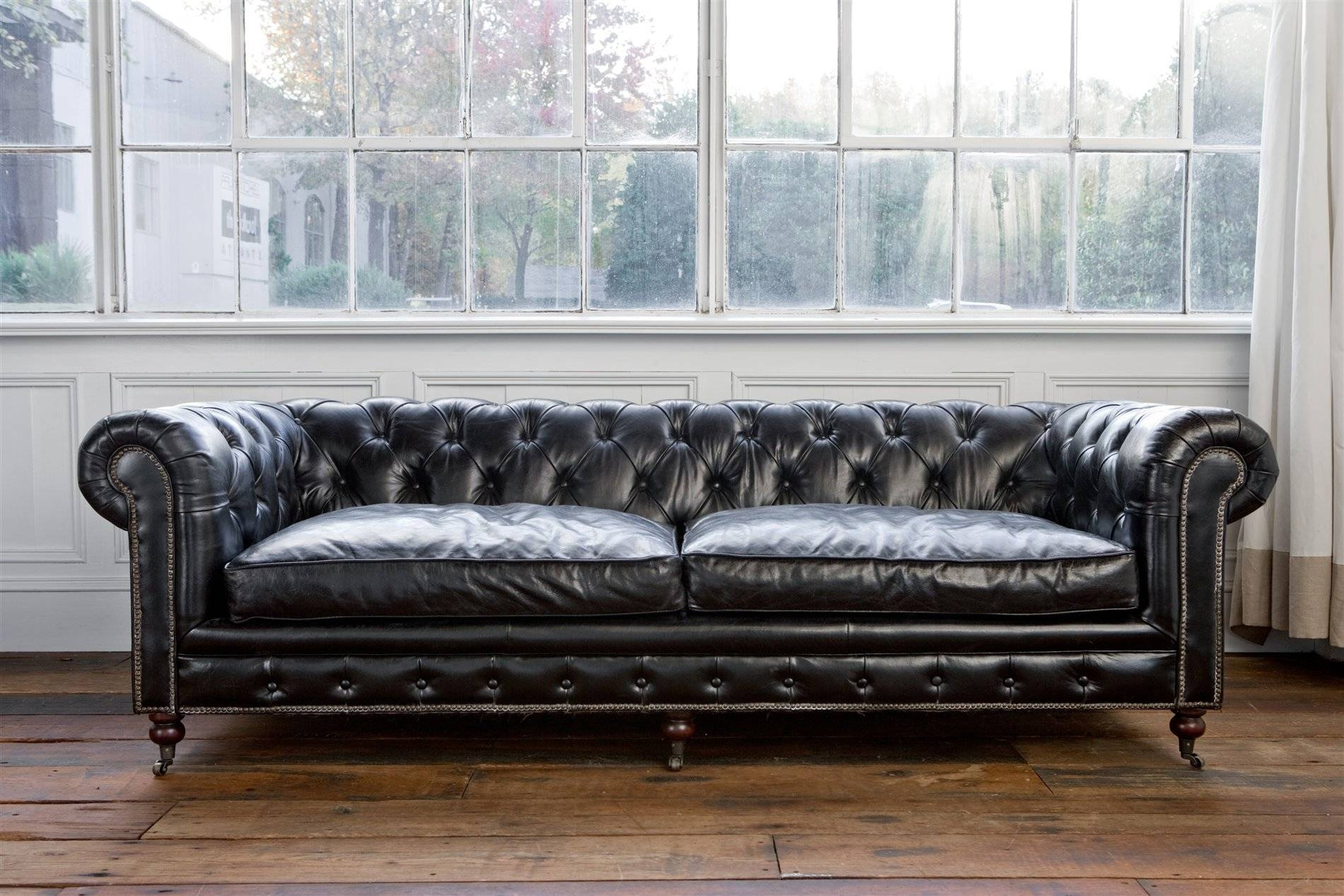 Overstock Leather Sofa Bed | Bed Furniture Decoration Inside Cheap Tufted Sofas (View 8 of 30)
