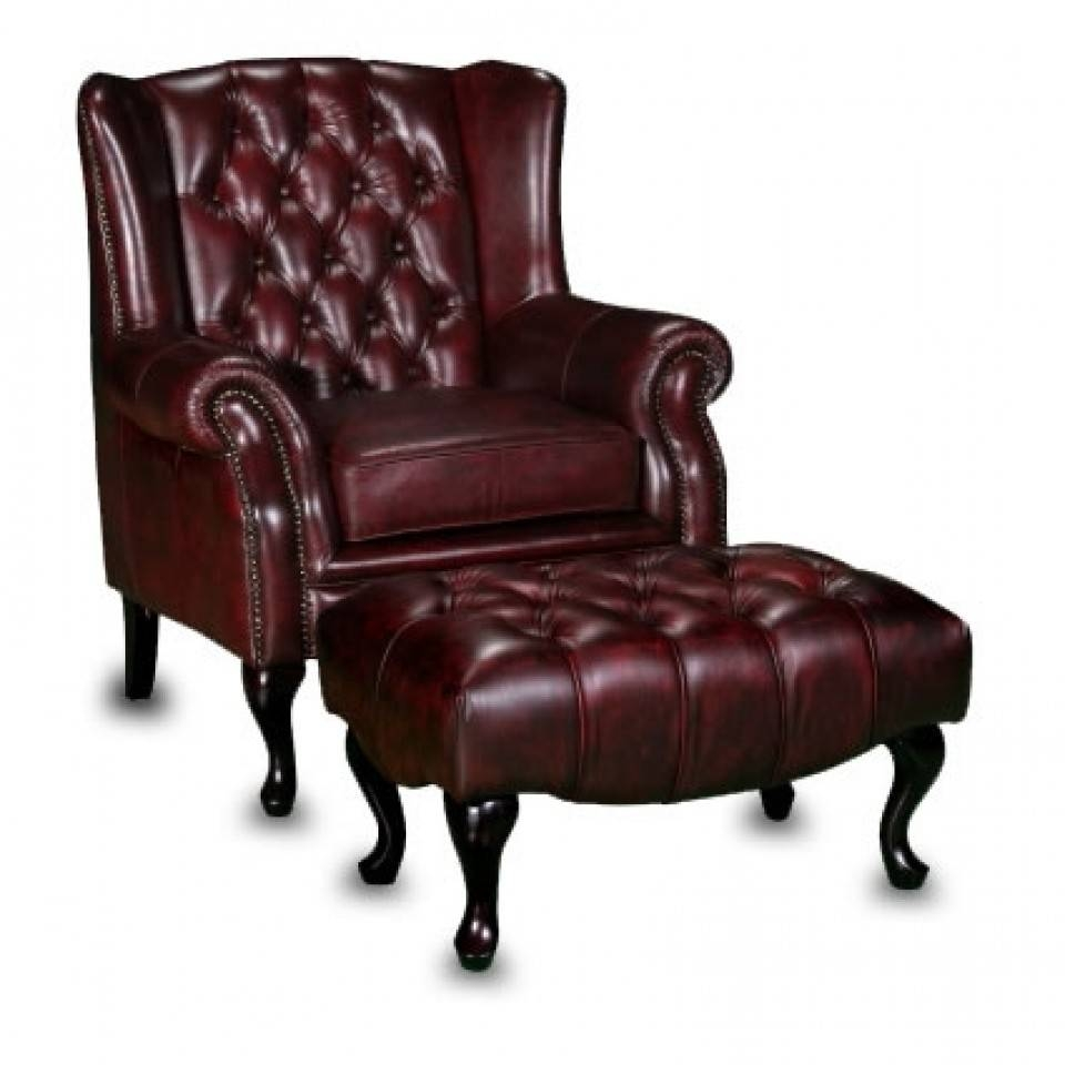 Oxblood Chesterfield Sofa | Sheffield | Devlin Lounges regarding Chesterfield Recliners (Image 19 of 30)