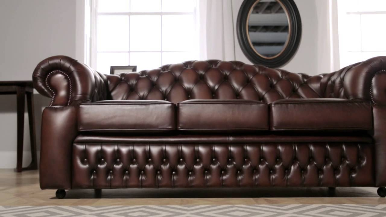Oxford Chesterfield Sofa From Sofassaxon - Youtube regarding Oxford Sofas (Image 15 of 30)
