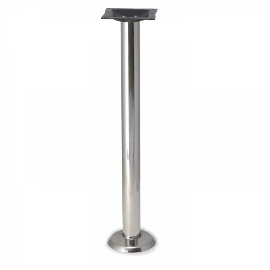 P1F Chrome Table Base | Tablebases - Quality Table Bases throughout Chrome Coffee Table Bases (Image 27 of 30)