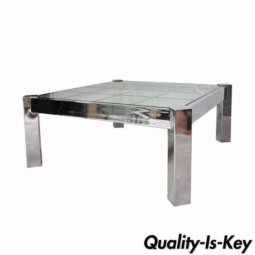Pace Furniture | Ebay with Modern Chrome Coffee Tables (Image 30 of 30)