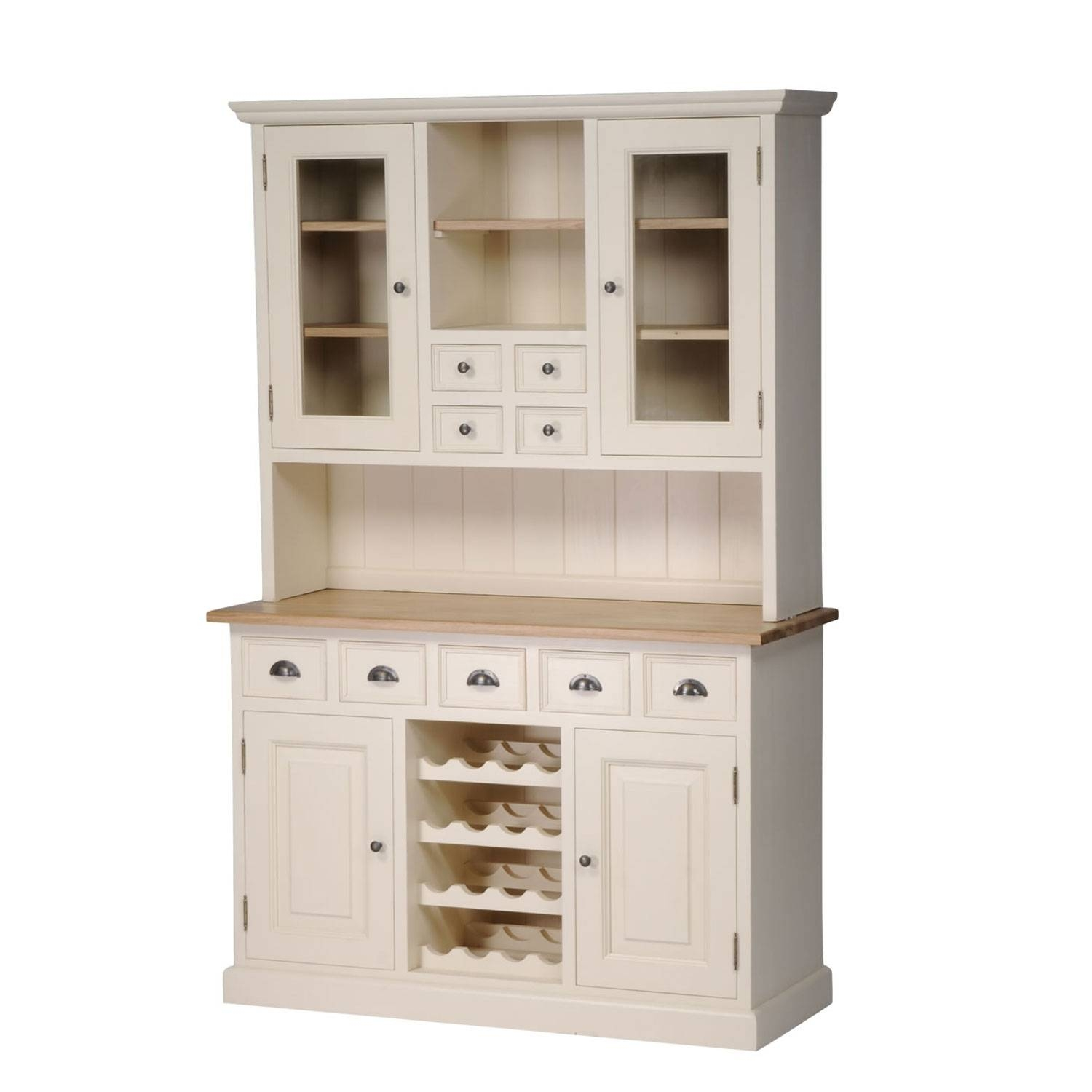 Painted Dressers And Sideboards ~ Bestdressers 2017 in White Sideboards With Wine Rack (Image 11 of 30)