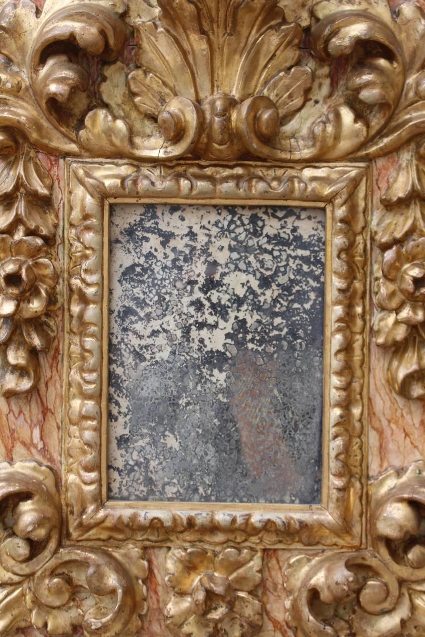 Pair Of 17Th Century Baroque Mirrors – Mirror Pairs Regarding Baroque Mirrors (View 23 of 25)