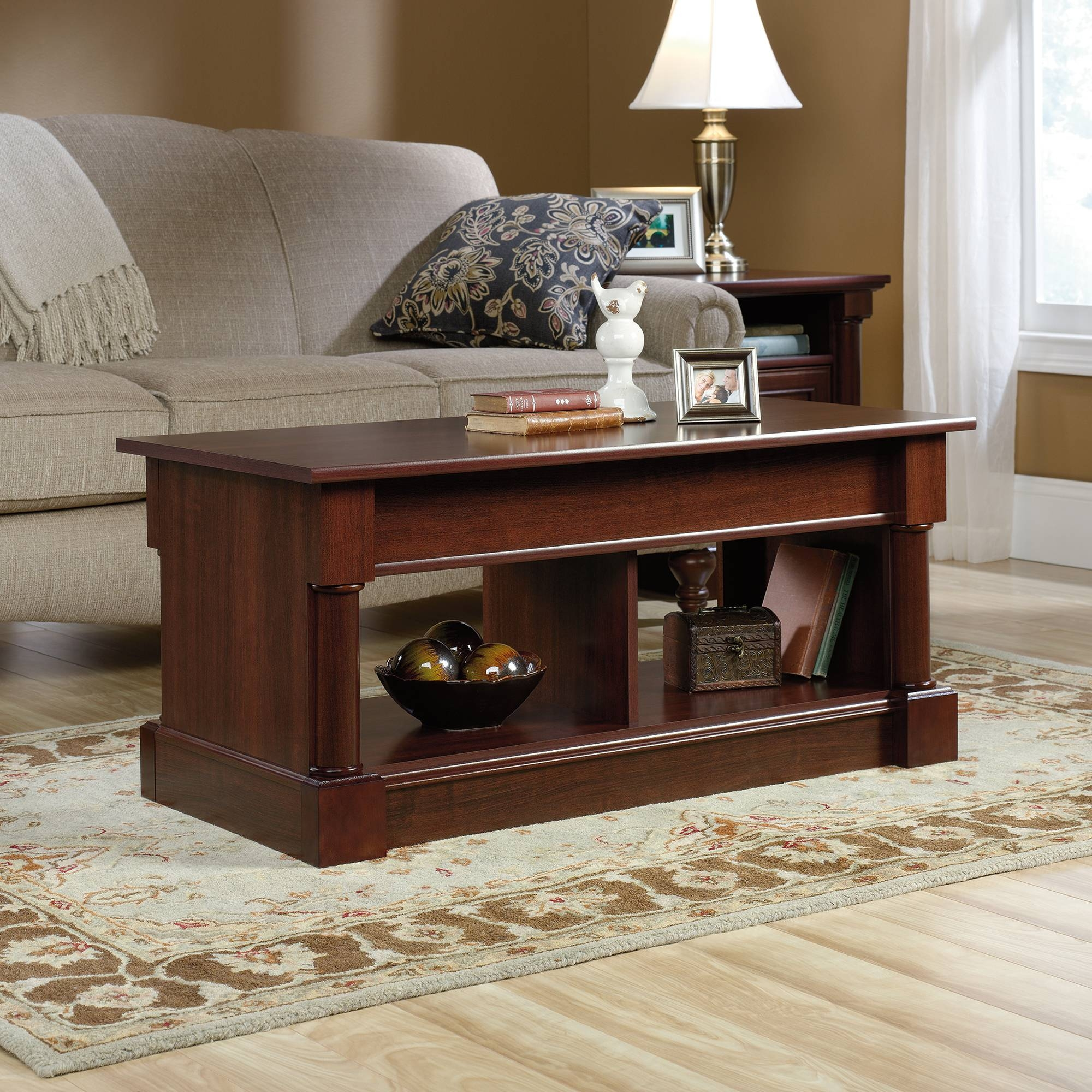 Palladia | Lift-Top Coffee Table | 420520 | Sauder with Coffee Tables With Lifting Top (Image 22 of 30)