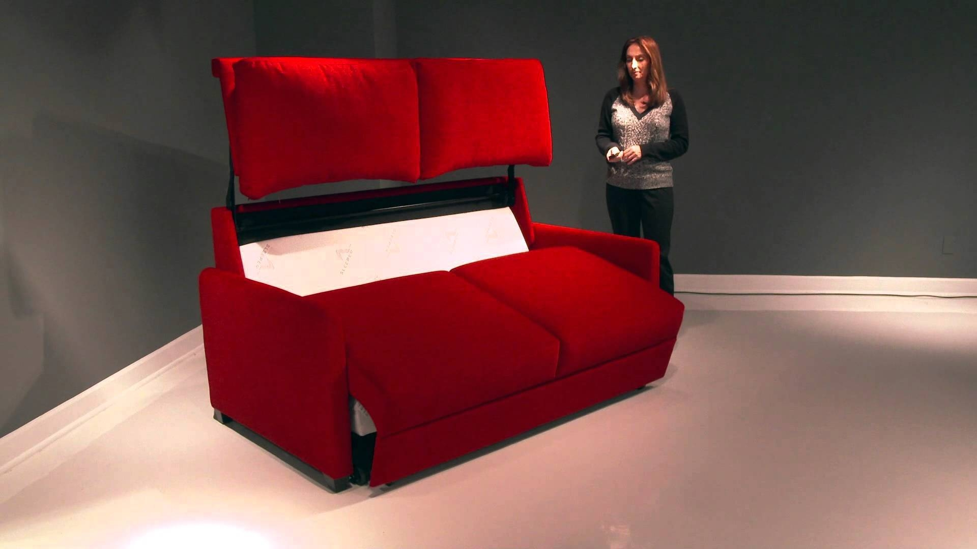 Paragon Power Sleeper Sofas San Diego - Youtube in Sofa Bed Sleepers (Image 12 of 30)