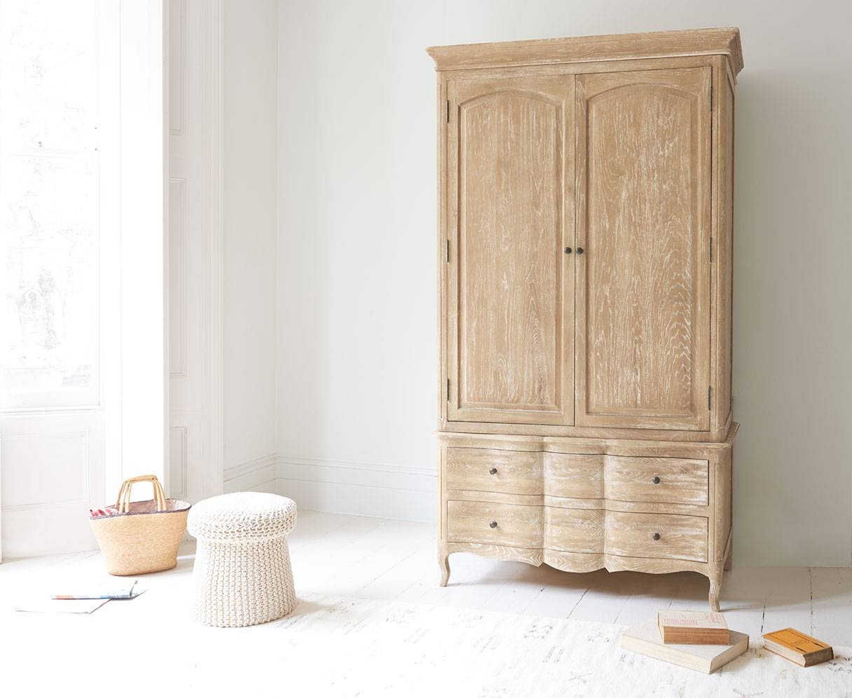 Pascale Wardrobe | French Style Wardrobe | Loaf intended for French Style Wardrobes (Image 11 of 15)