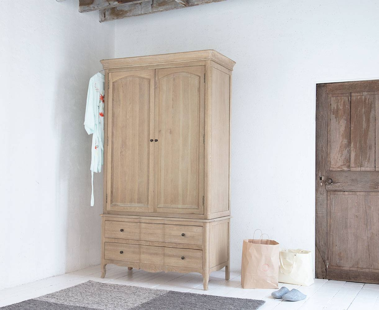 Pascale Wardrobe | French Style Wardrobe | Loaf throughout French Style Wardrobes (Image 12 of 15)