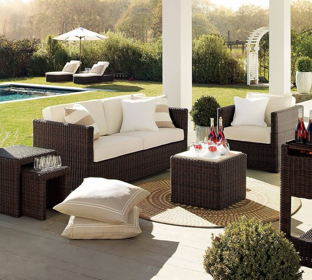 Patio: Amazing Patio Furniture At Target Patio Furniture Walmart within Modern Rattan Sofas (Image 25 of 30)