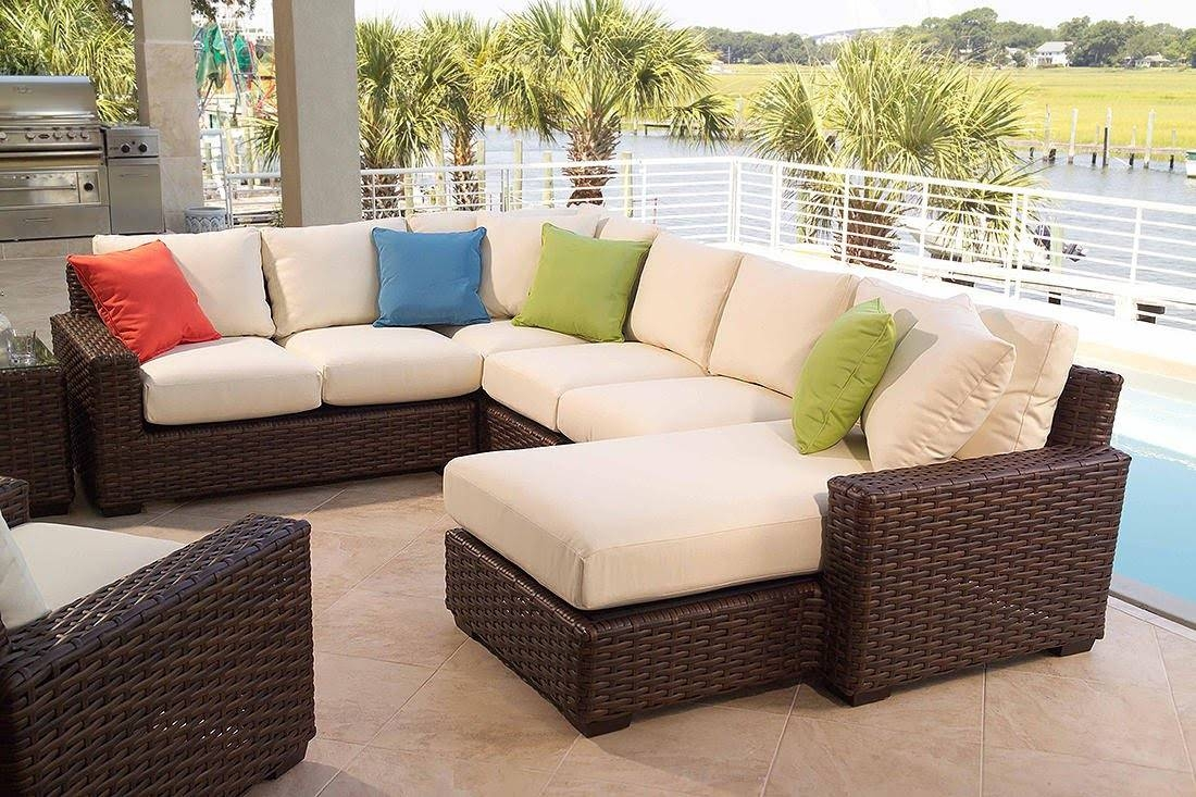 Patio: Cool Conversation Sets Patio Furniture Clearance With for Outdoor Sofa Chairs (Image 26 of 30)
