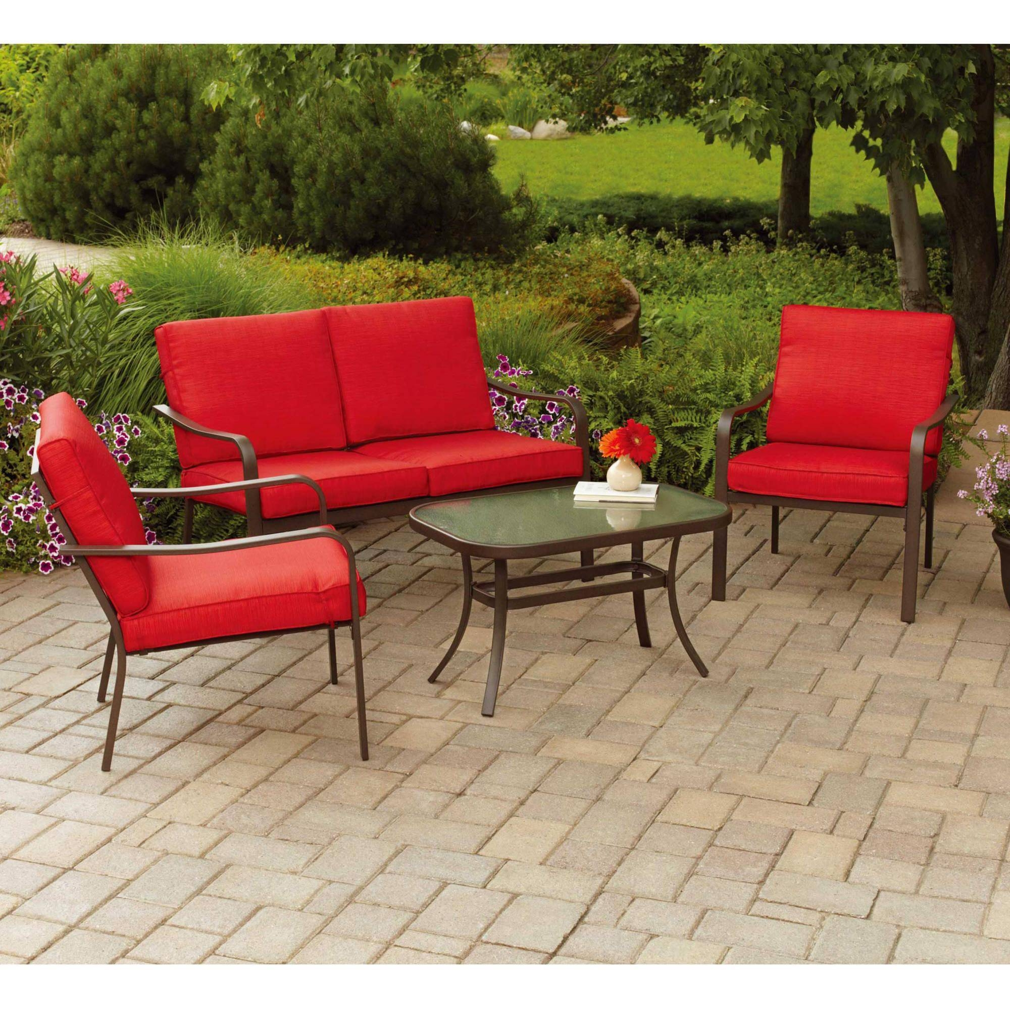 Patio: Cool Conversation Sets Patio Furniture Clearance With Within Outdoor Sofa Chairs (View 23 of 30)