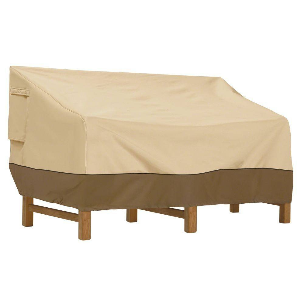 Patio Furniture Covers - Patio Accessories - The Home Depot for Sofa And Chair Covers (Image 19 of 30)