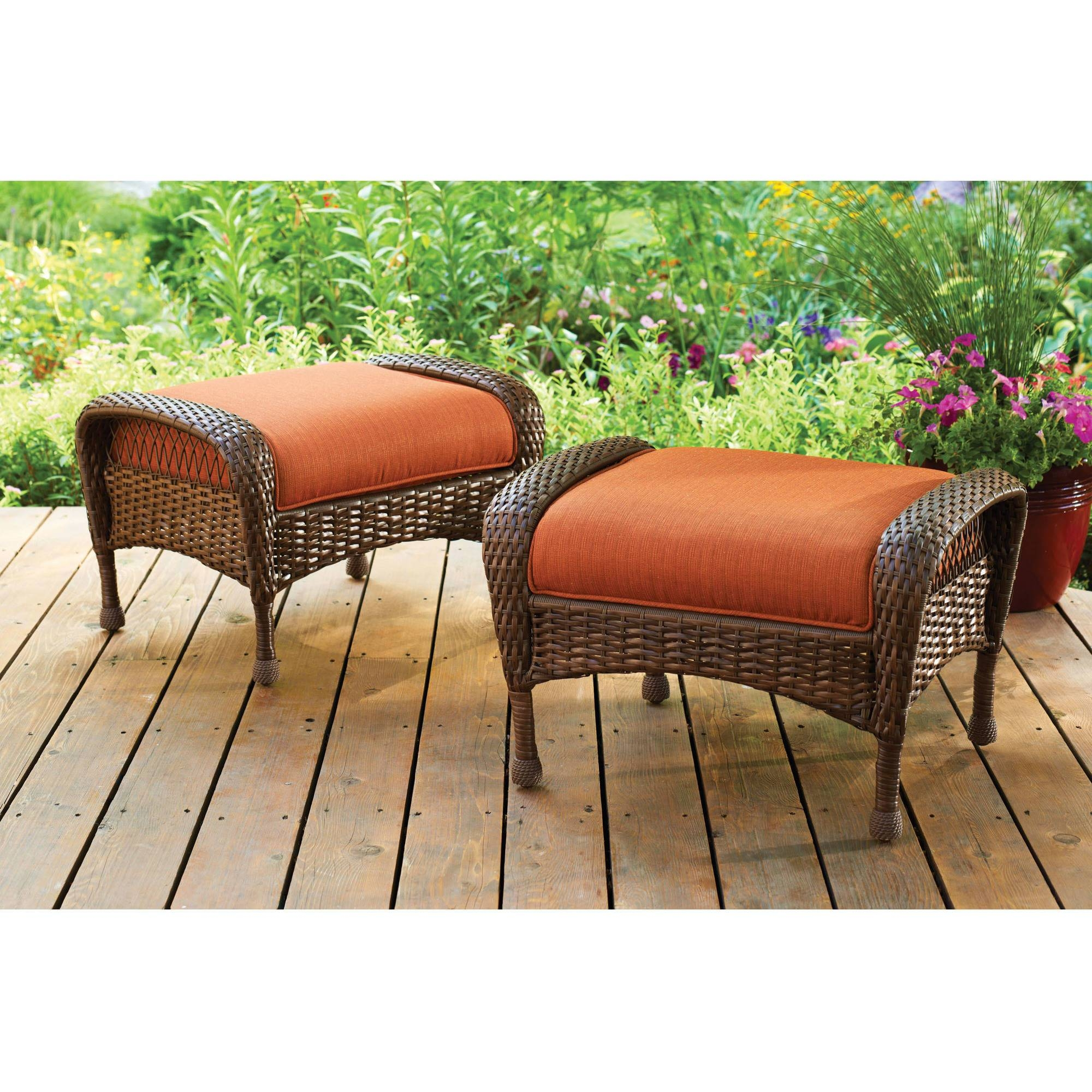 Patio Furniture - Walmart pertaining to Outdoor Sofa Chairs (Image 23 of 30)