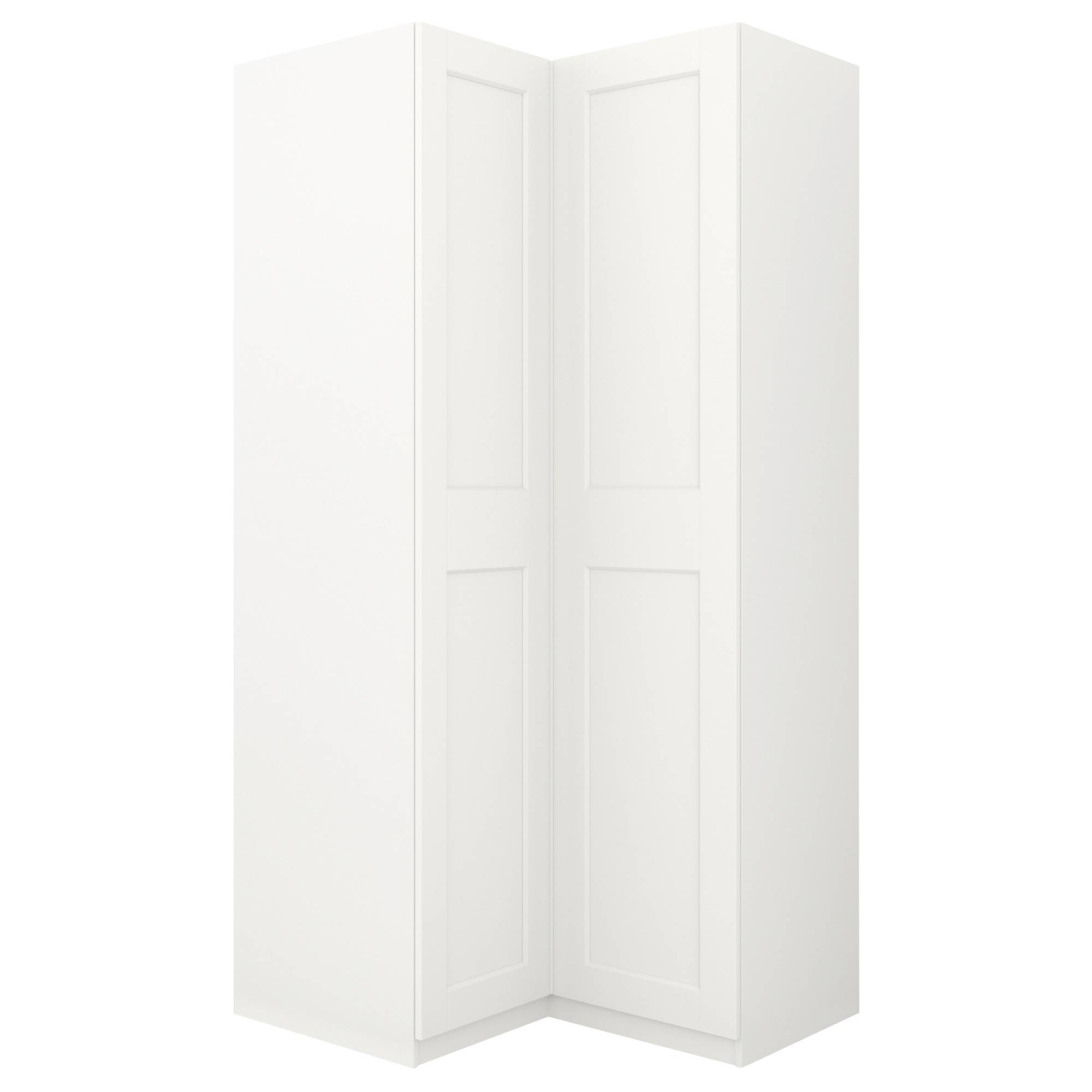 Pax Corner Wardrobe - Ikea in White Corner Wardrobes Units (Image 12 of 15)
