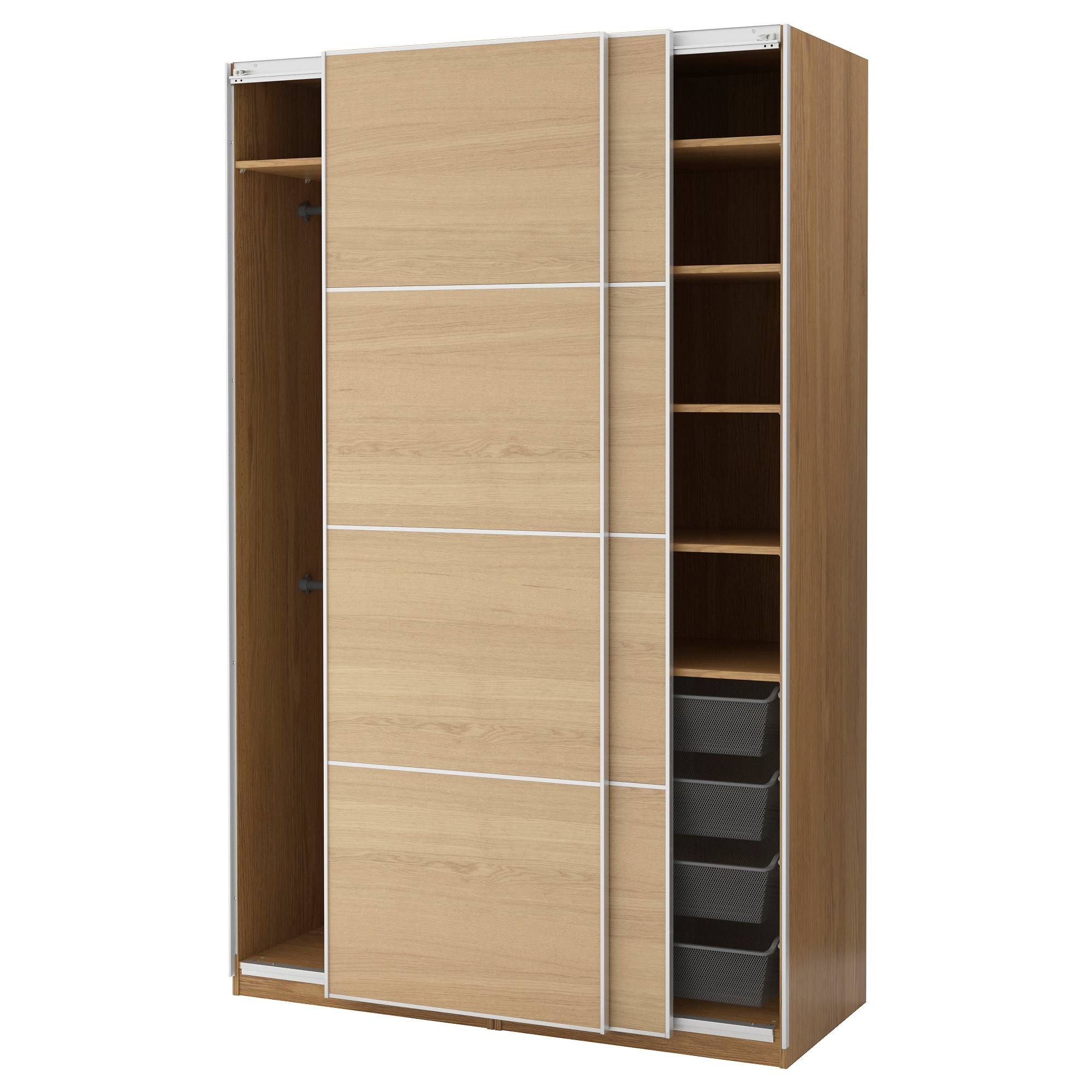 Pax Wardrobes | Built In Wardrobes | Ikea with regard to Dark Wood Wardrobes Ikea (Image 17 of 30)