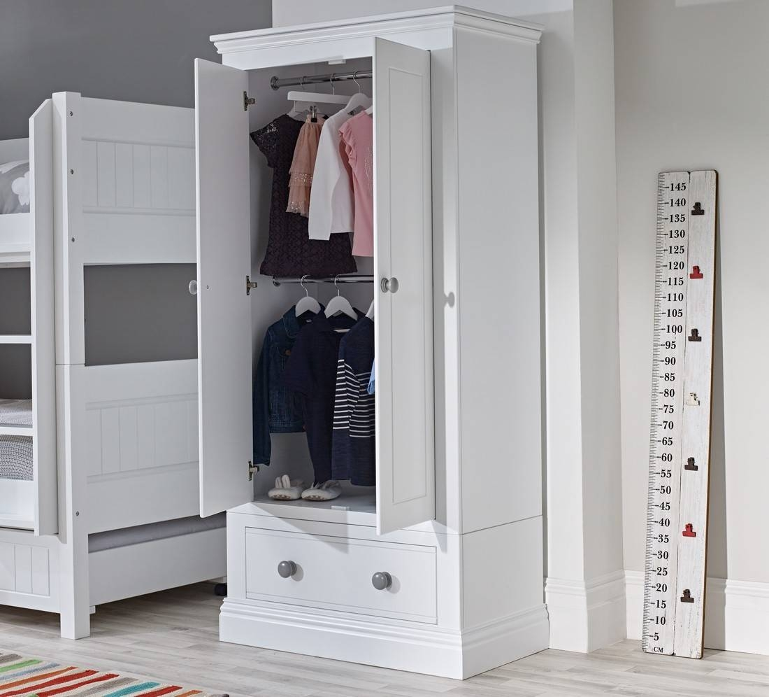 Pebblelicious Double Dreamer Wardrobe | Ollie & Leila within Double Wardrobes (Image 9 of 15)