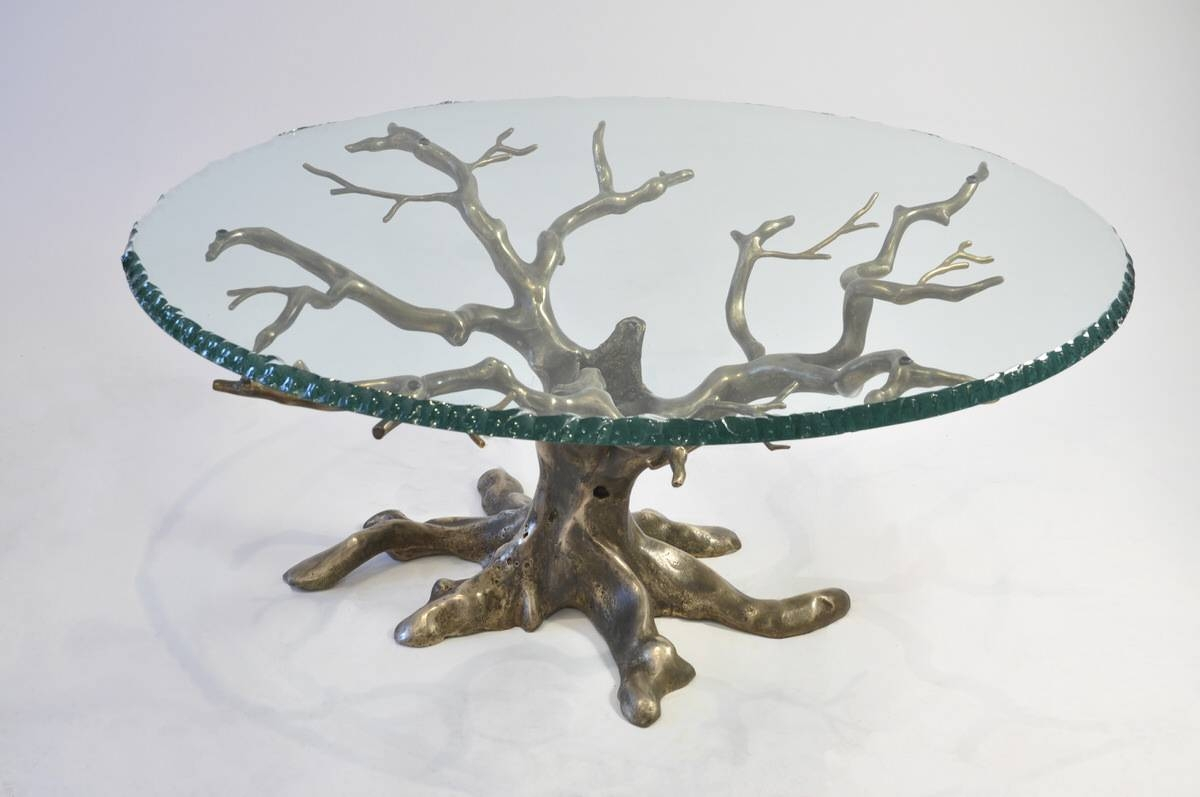 Penshurst Coffee Table - Mark Reed Sculpture with regard to Bespoke Coffee Tables (Image 27 of 30)