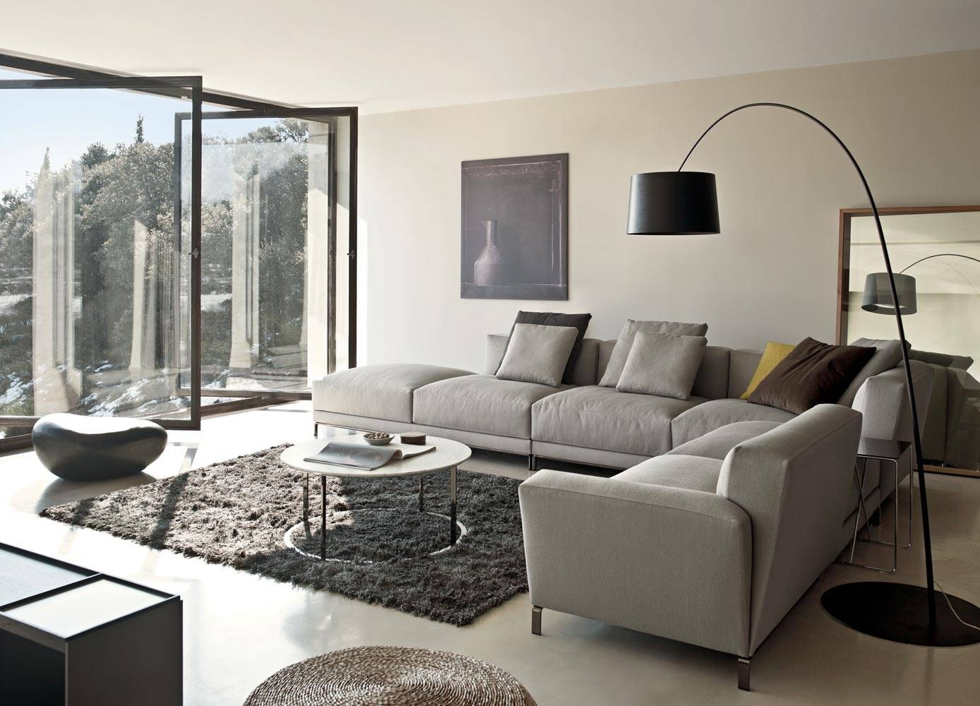 Perfect Decorating With A Sectional Sofa 14 For Your Slim within Decorating With A Sectional Sofa (Image 23 of 30)