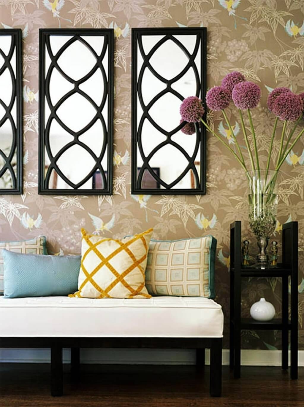 Perfect Decorative Wall Mirrors For Living Room | Jeffsbakery throughout Decorative Long Mirrors (Image 22 of 25)