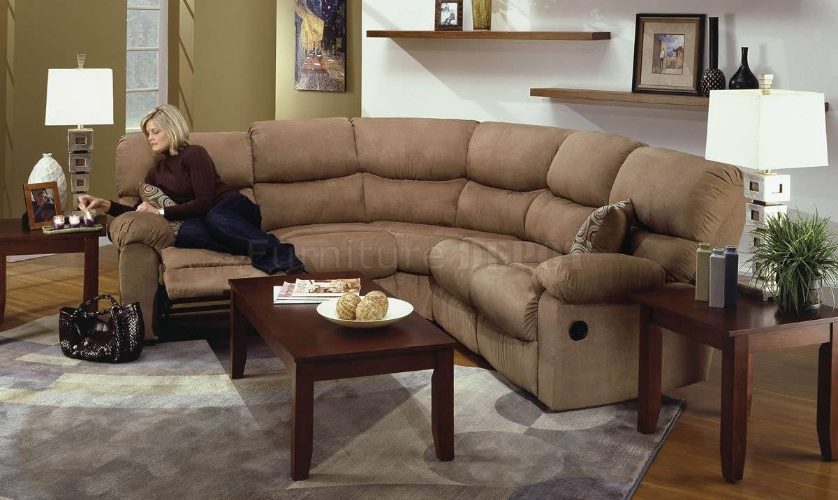 Perfect Sectional Couches With Recliners Sofas 17 Best Ideas About throughout Microsuede Sectional Sofas (Image 22 of 30)