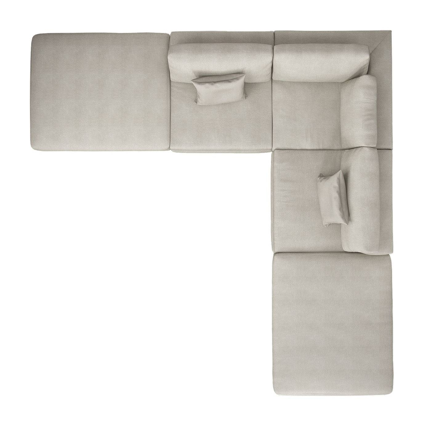 Perry Armless Corner Sectional Sofa Moonbeammodloft With Armless Sectional Sofas (Photo 8 of 30)
