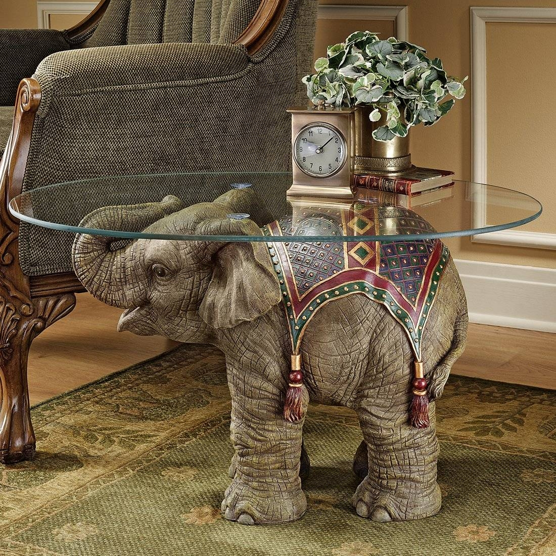 Photo Of Elephant Coffee Table With 20Th Century Vietnamese Hand inside Elephant Coffee Tables (Image 26 of 30)