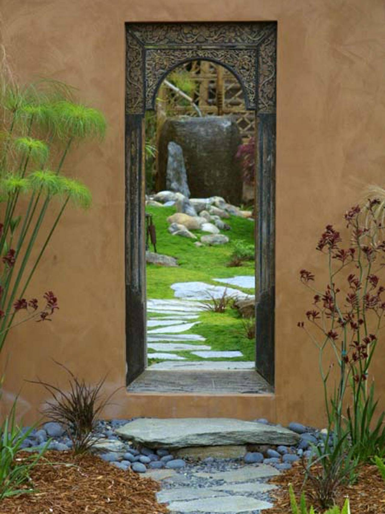Photo Page | Hgtv with regard to Garden Wall Mirrors (Image 24 of 25)