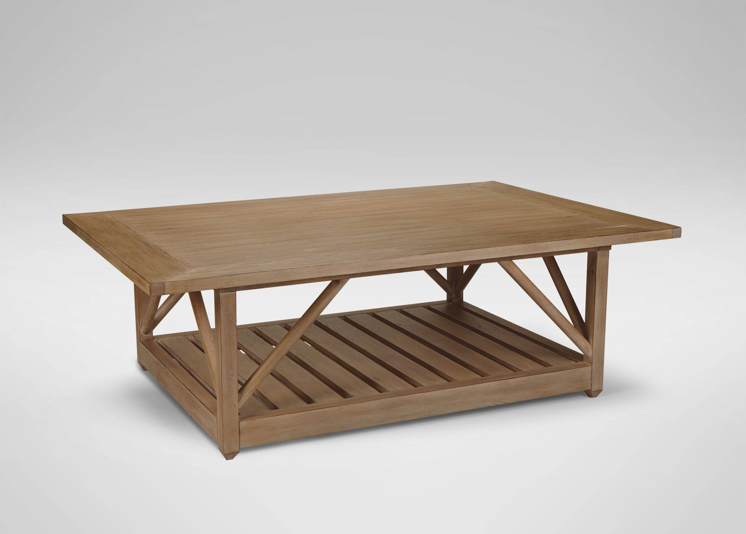 Picture Of Artistic Reclaimed Wood Coffee Tables – Reclaimed Wood in Oversized Square Coffee Tables (Image 27 of 30)