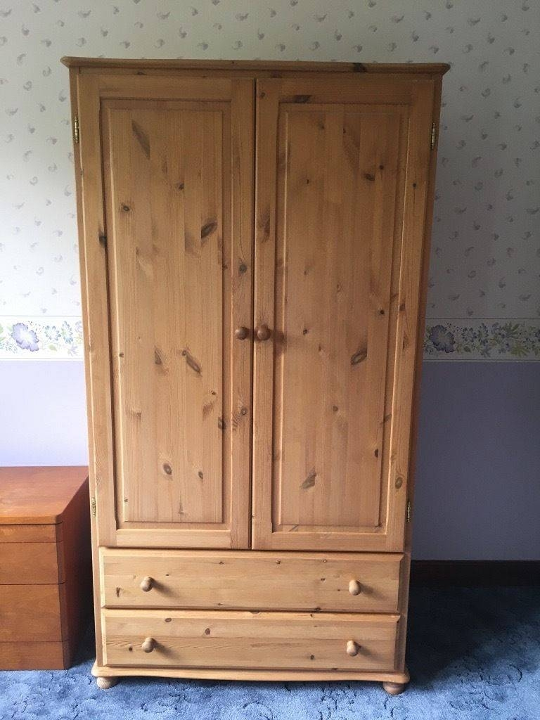 Pine Double Wardrobe | In Attleborough, Norfolk | Gumtree with regard to Pine Double Wardrobes (Image 12 of 15)