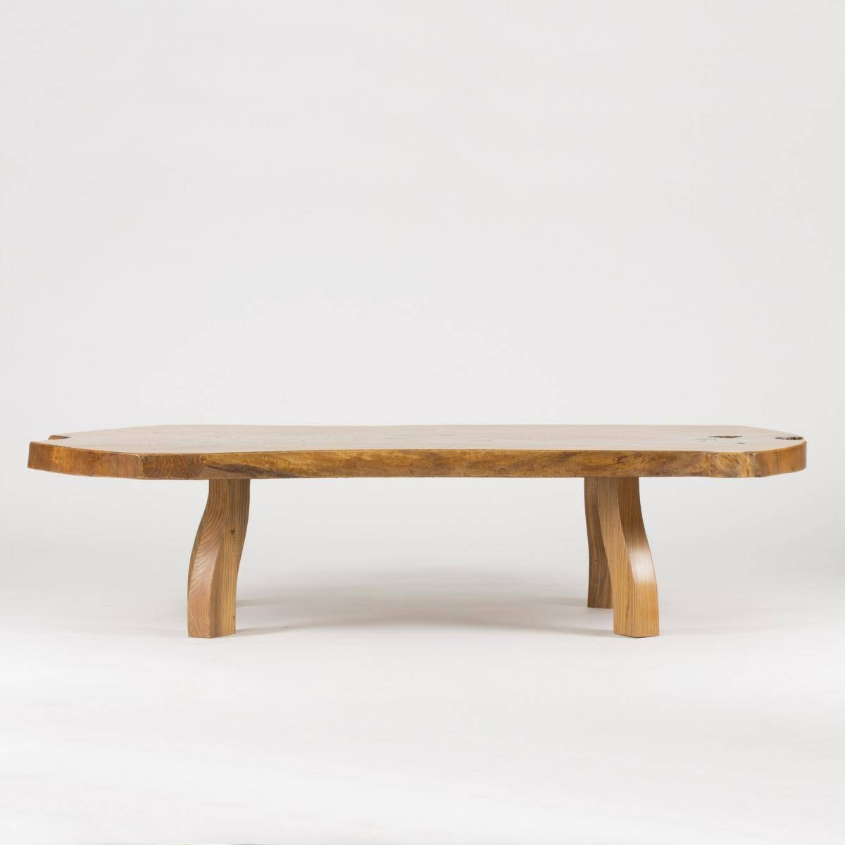 Pine Slab Coffee Tablec.a. Beijbom, 1960S For Sale At Pamono inside Pine Coffee Tables (Image 17 of 30)