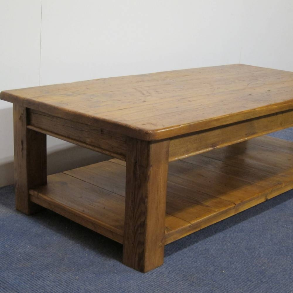Pine Tables And Benches Made To Measure — Pinefinders Old Pine in Old Pine Coffee Tables (Image 23 of 30)