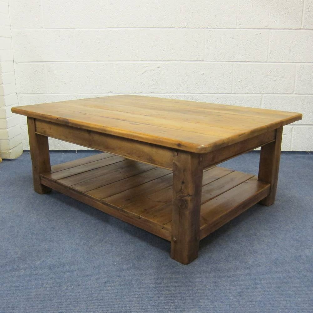 Pine Tables And Benches Made To Measure — Pinefinders Old Pine intended for Square Pine Coffee Tables (Image 24 of 30)