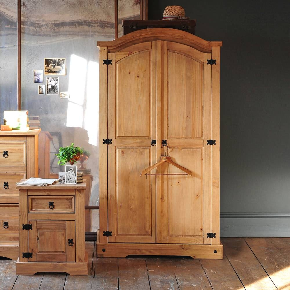 Pine Wardrobes For Adding Natural Texture To Homes – Furniture And within Pine Wardrobes (Image 12 of 15)