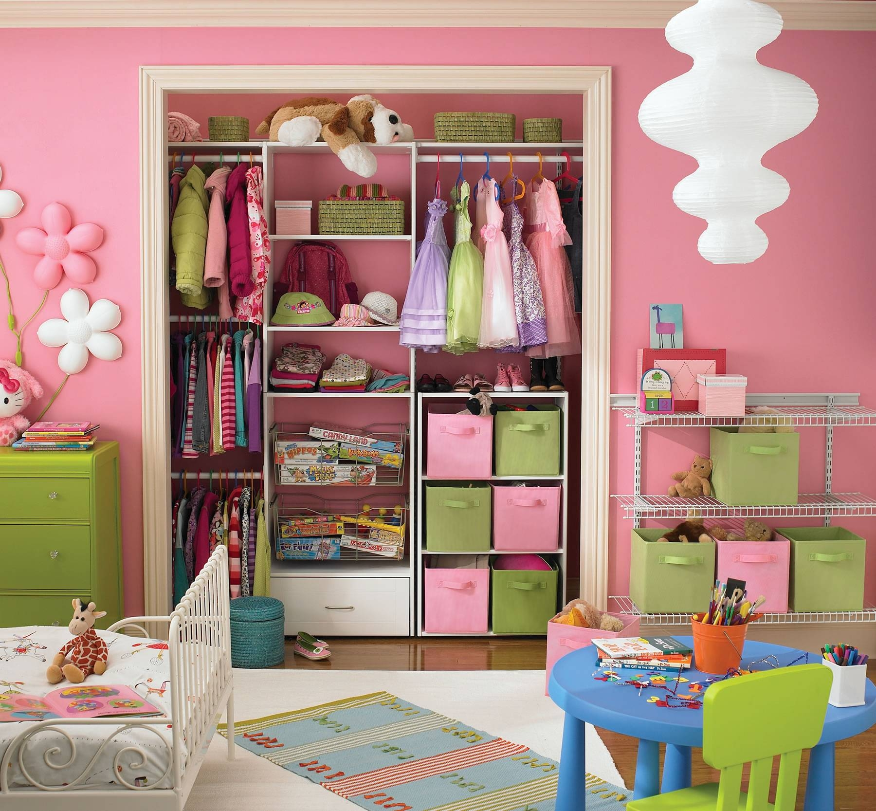 Pink Closet Organizers : Closet Organizers For Children – Home pertaining to Childrens Pink Wardrobes (Image 22 of 30)