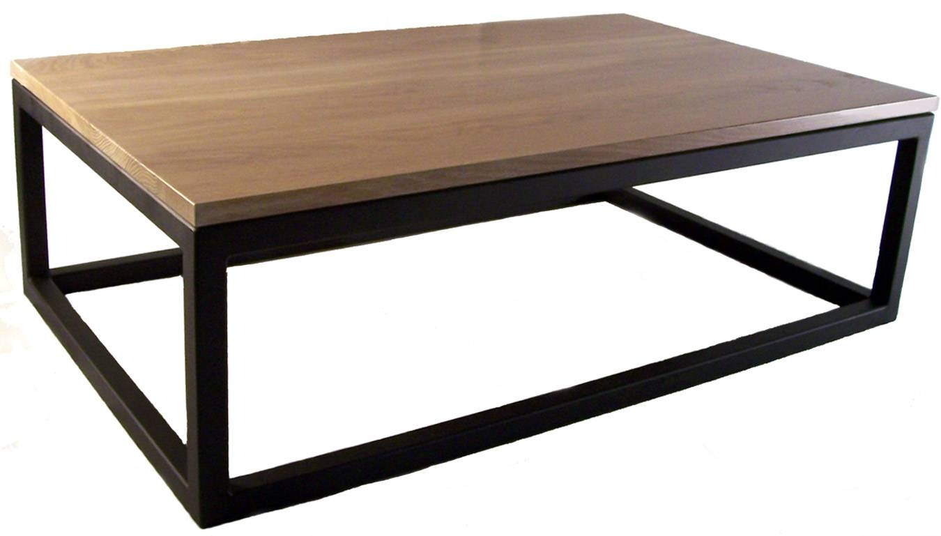 Pk Steel Designs - Products for White and Oak Coffee Tables (Image 22 of 30)