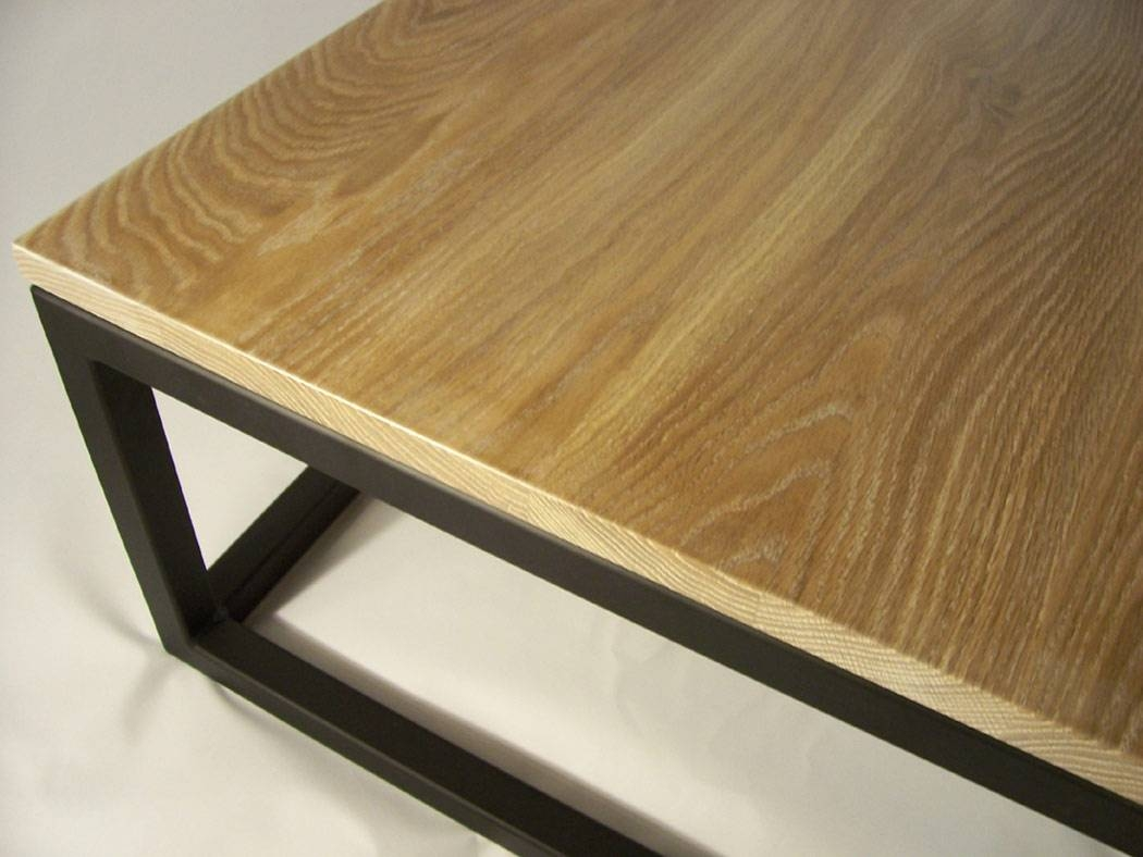 Pk Steel Designs - Products with regard to White and Oak Coffee Tables (Image 23 of 30)