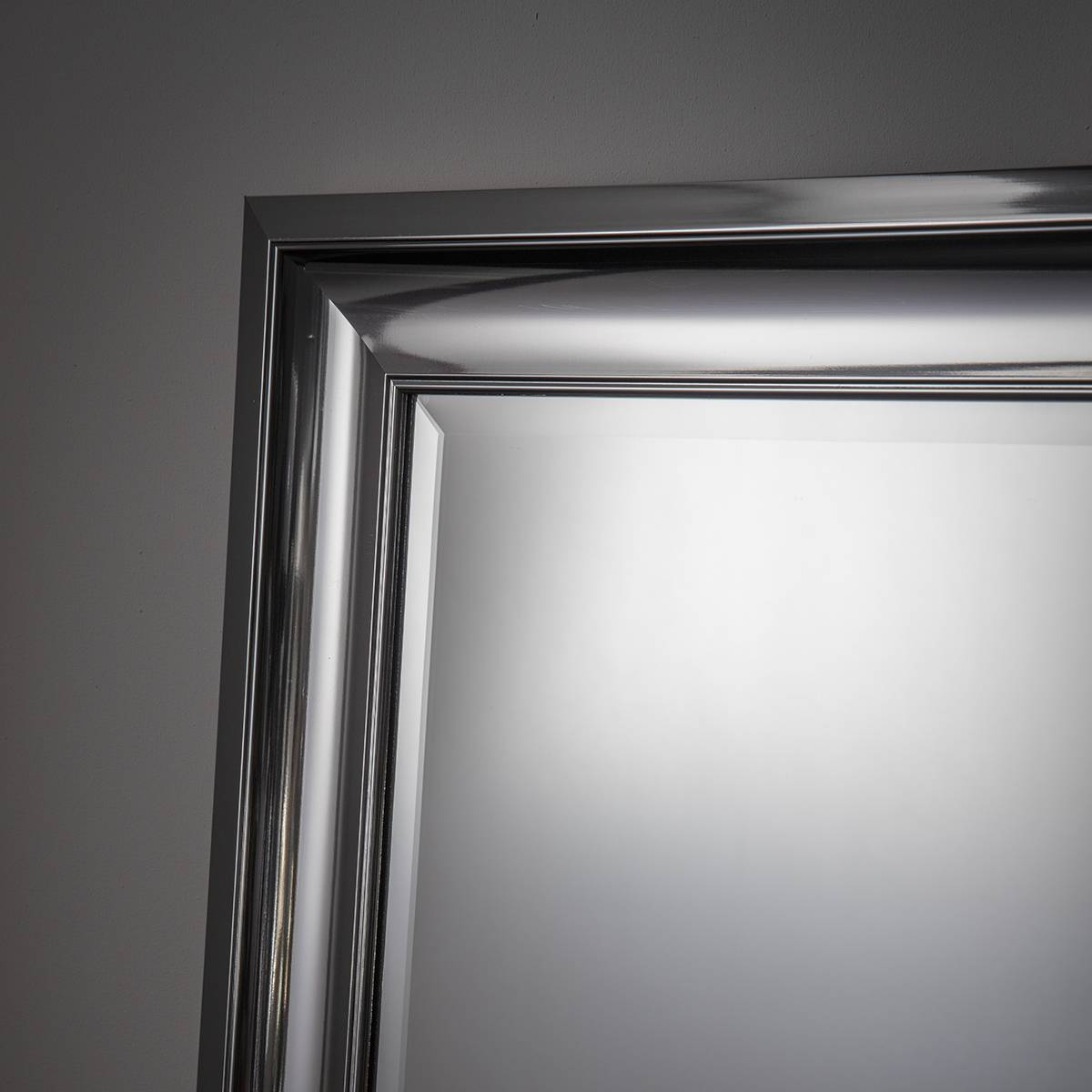 25 Collection Of Silver Rectangular Mirrors