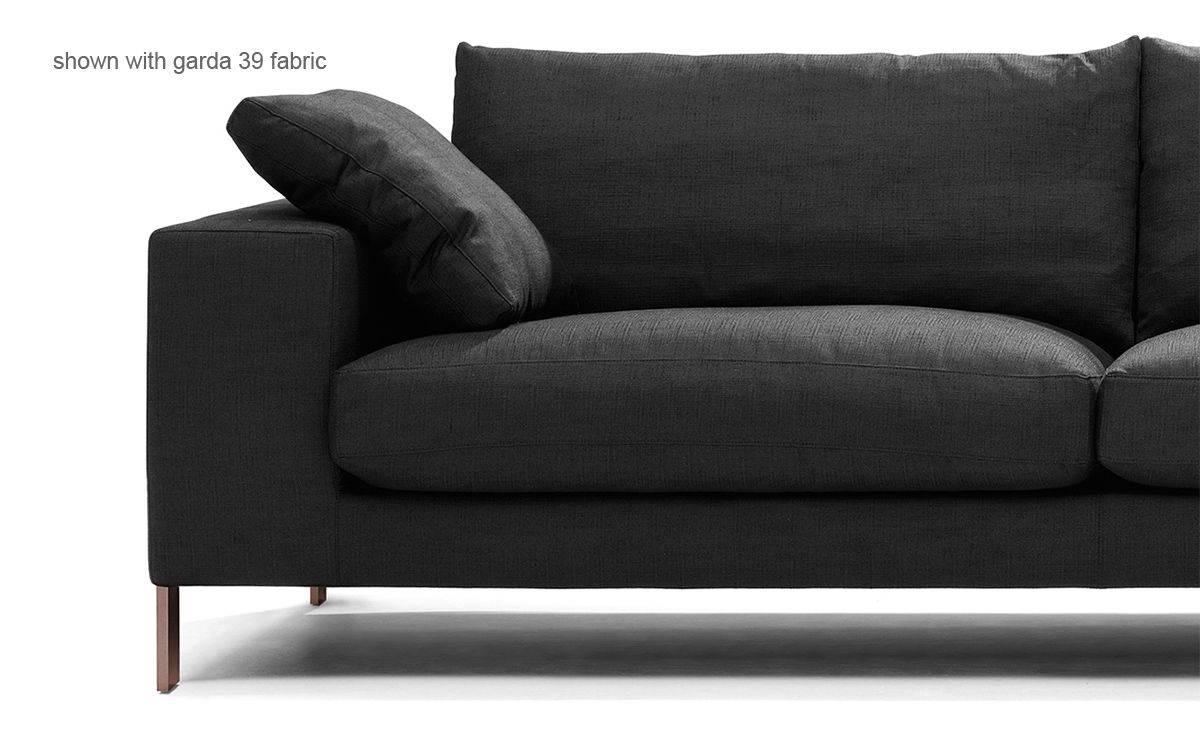 Plaza 3 Seat Sectional Sofa - Hivemodern within 2 Seat Sectional Sofas (Image 21 of 30)