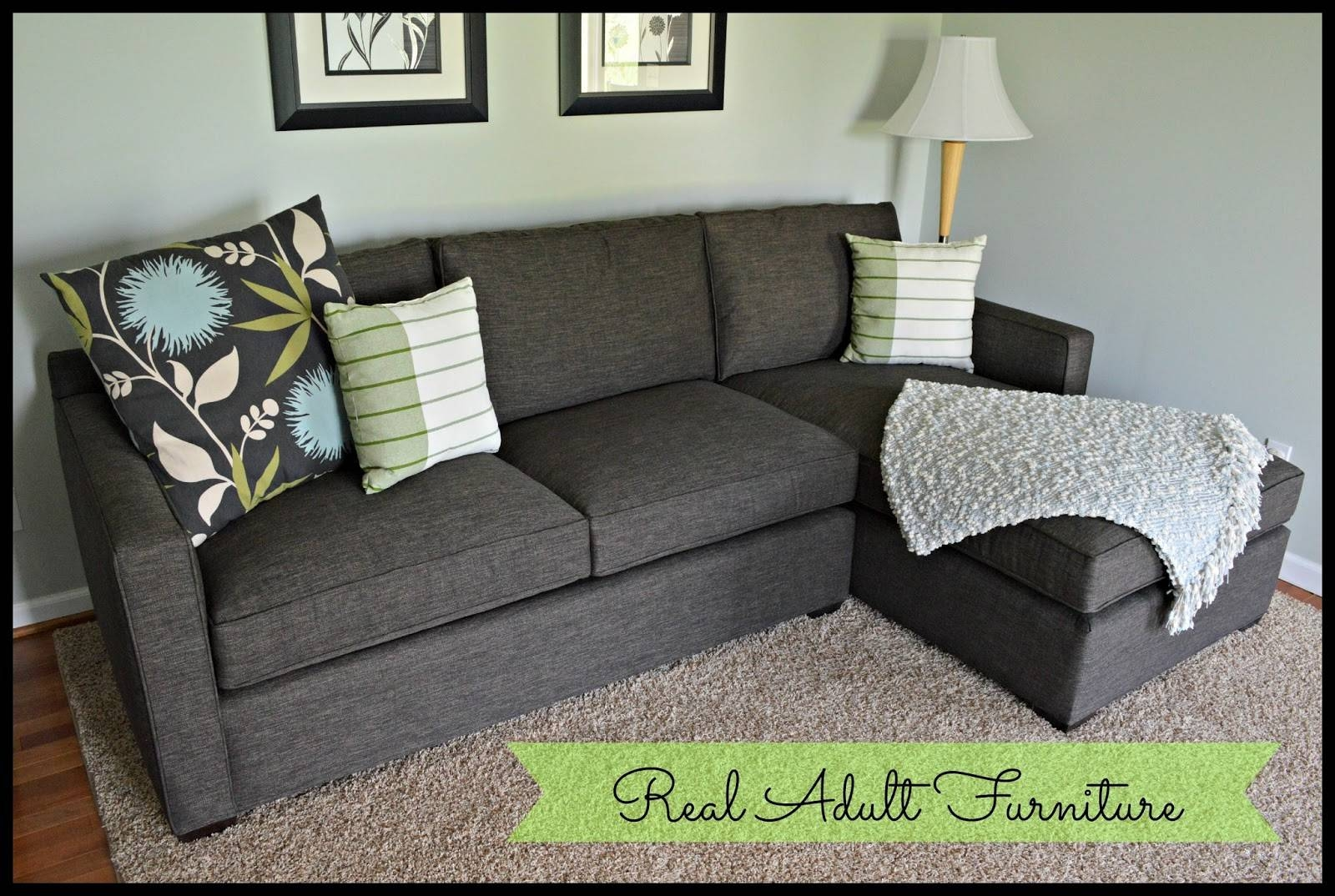 Pokiedot: My First Adult Furniture in Crate and Barrel Sectional Sofas (Image 20 of 30)