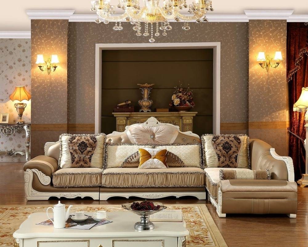 Popular Black Wood Furniture Living Room-Buy Cheap Black Wood intended for European Leather Sofas (Image 20 of 30)