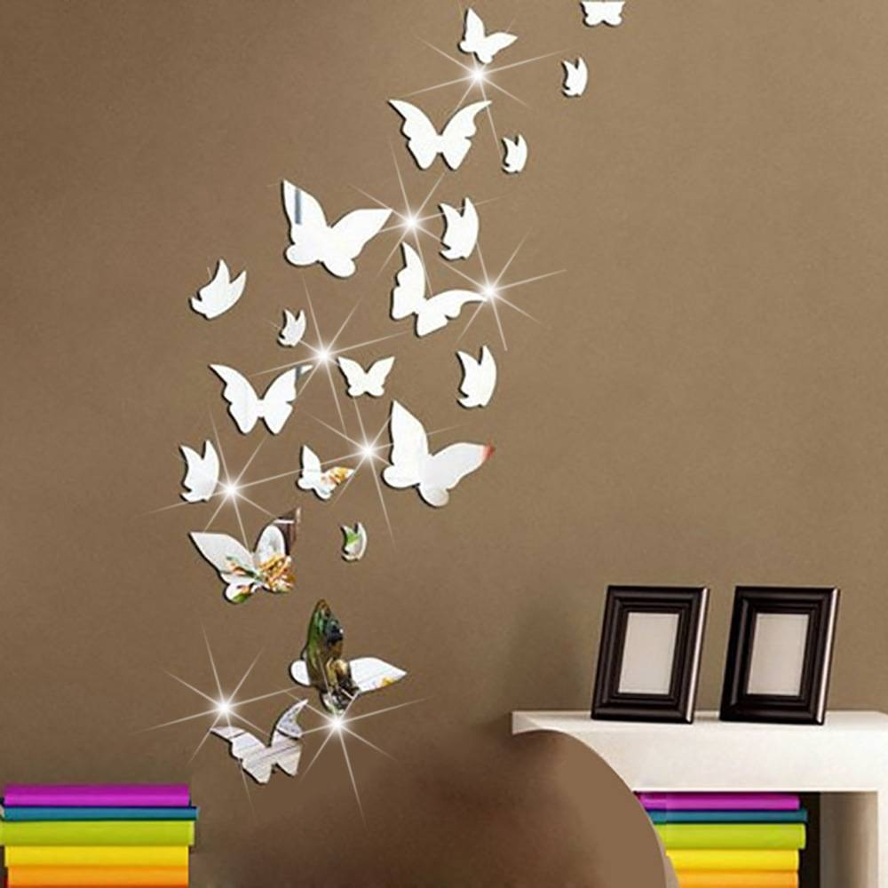 Popular Butterfly Wall Mirror-Buy Cheap Butterfly Wall Mirror Lots with Butterfly Wall Mirrors (Image 17 of 25)